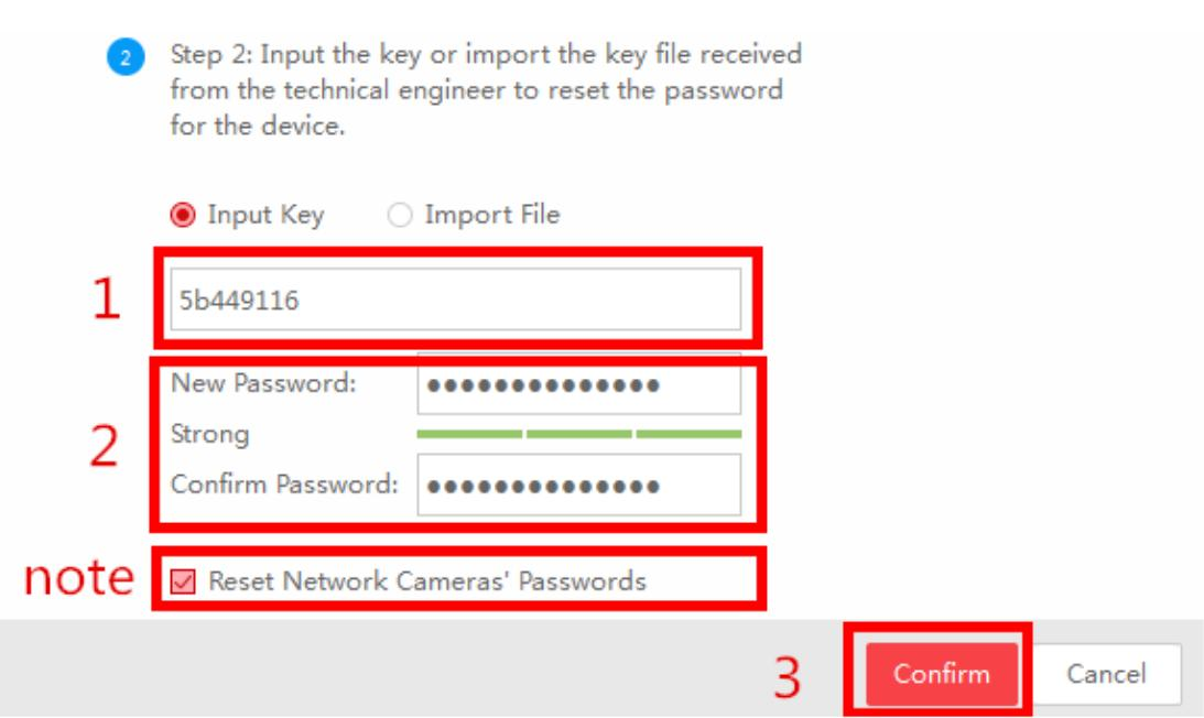 How to reset Hikvision DVR NVR IPC Admin Password