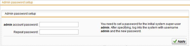 Sophos UTM Password Recovery Procedure