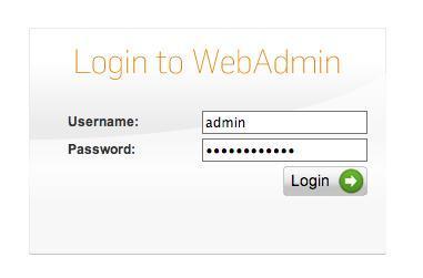 Default Password of Sophos UTM