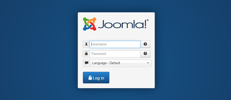 Joomla Default Admin Password
