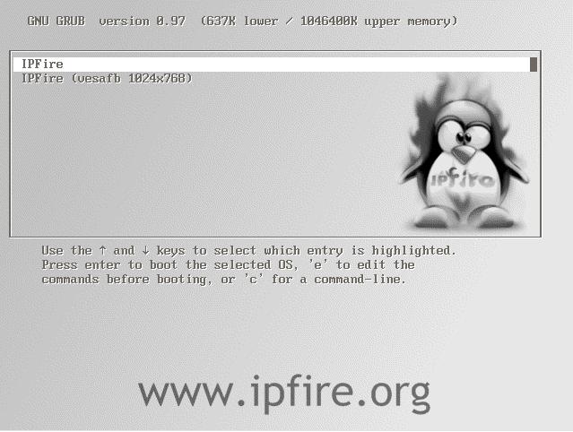 ip fire Password Reset