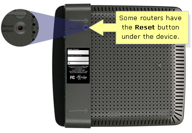 Reset the Linksys E1200 Router to Factory Default