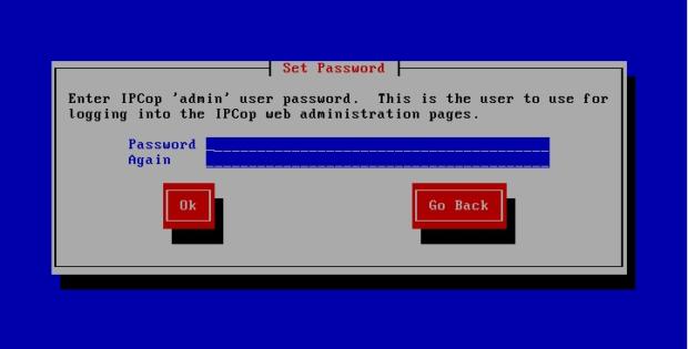 ipcop web password