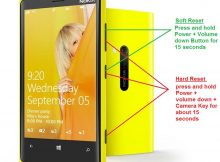 How to Soft Reset or Hard Reset Nokia Lumia 920